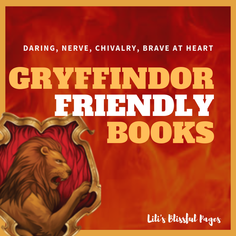 Gryffindor? Here are books that might be perfect for you. #HarryPotter #Gryffindor #Books #BookRecommendation