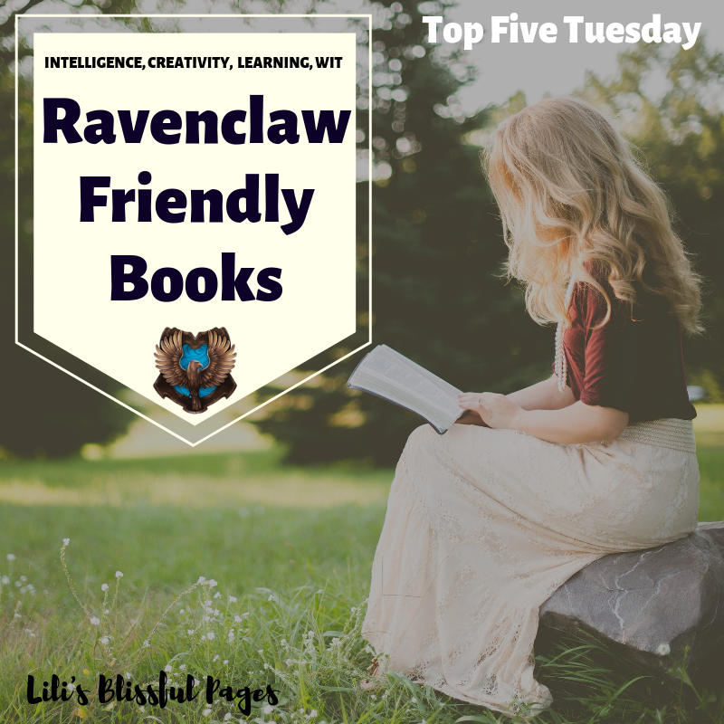 If you're a Ravenclaw, then these book recommendations are for you. Enjoy. #Ravenclaw #books #HarryPotter